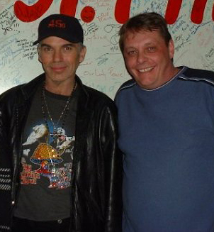 Rob with Billy Bob Thorton