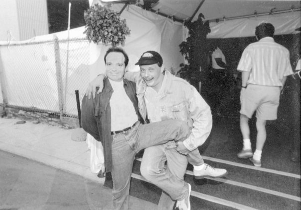 Rob and the late great Richard Jenni