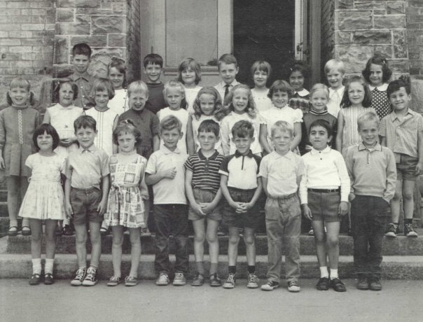 Can you spot Rob in his Kindergarten picture?