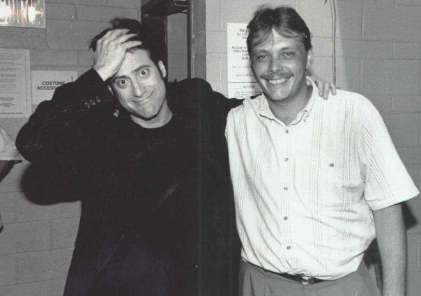 Rob & Comedian Richard Lewis